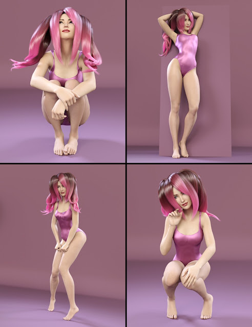 i13 Aiko 7 Pose Collection