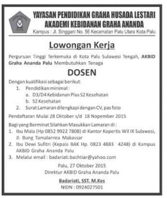 Lowongan Kerja Kebidanan Jakarta Timur Lowongan Kerja Lowongan Kerja Farmasi Terbaru Juli 2016 November 2015 Informasi Lowongan Kerja Terbaru 2015 Katalog Karir
