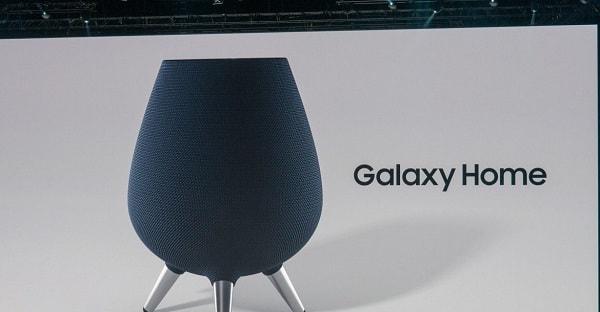سامسونج تعلن عن المكبر الصوتي الجديد Galaxy Home