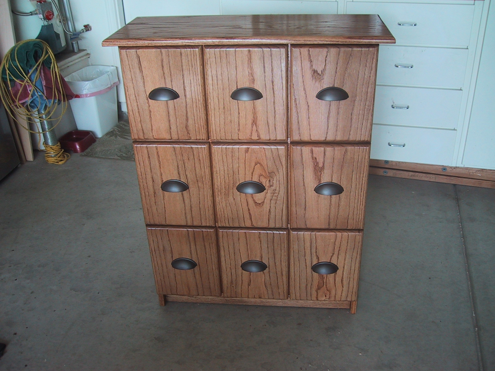 Bobs Woodwork Jakes Comic Book Collection File Cabinet