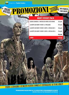 Promozione pack Zombie