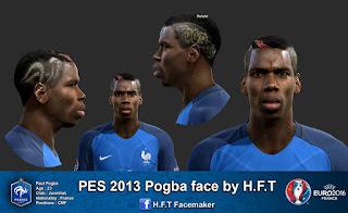 New Face Paul Pogba 2016 Pes 2013