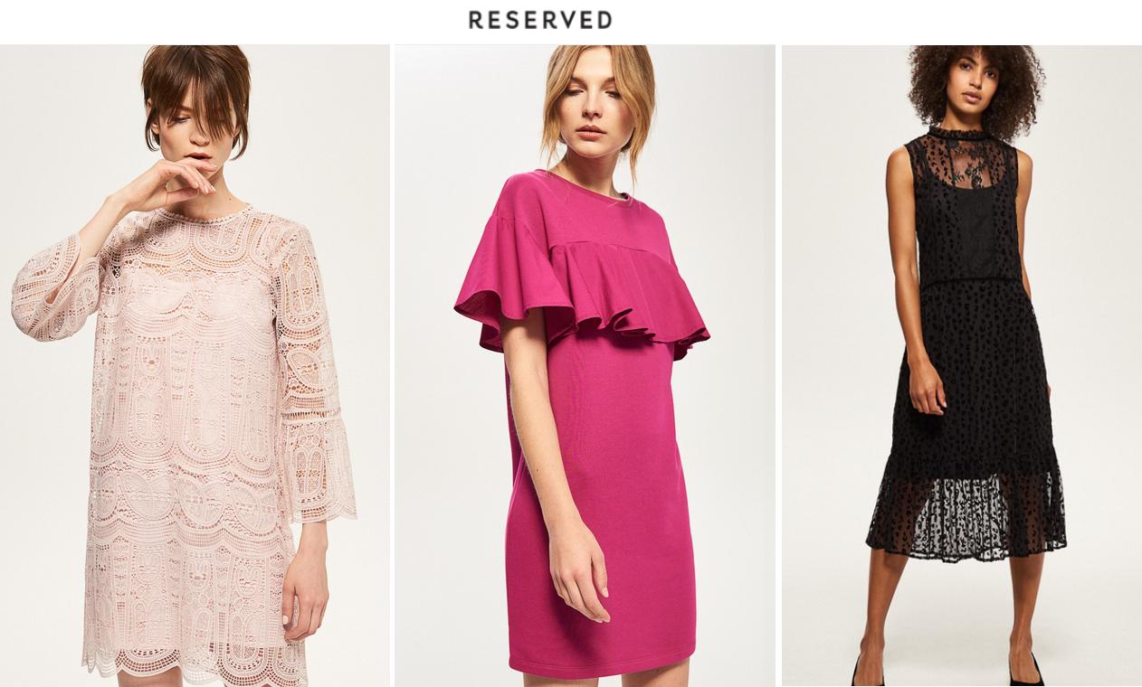 sukienki Reserved