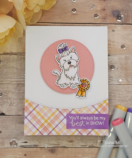 You'll always be my best in show by Andrea features Terrific Terriers by Newton's Nook; #newtonsnook