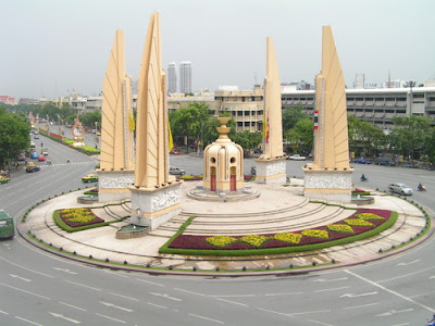 Democracy monument in Bangkok