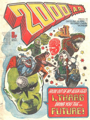 2000AD #13, Tharg