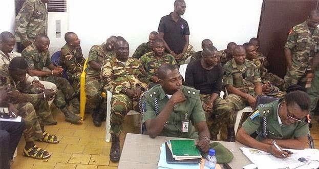 54 nigerian soldiers sentenced to death