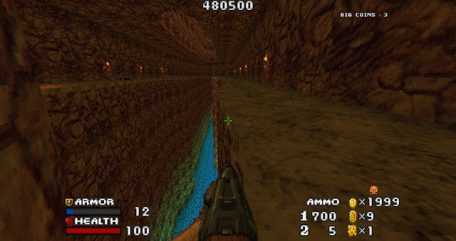Doom - The Golden Souls 2 - Don't fall off the map!