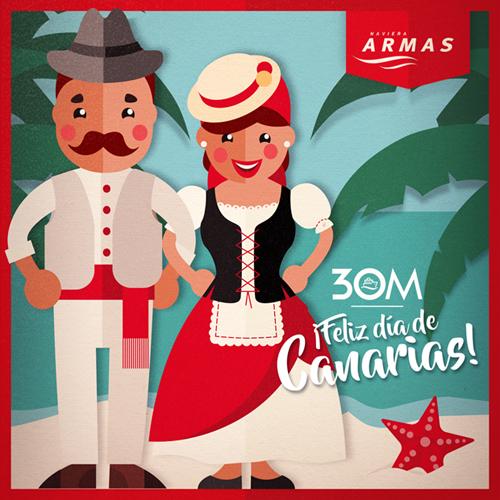 Navieraarmasblog Feliz Día De Canarias 2017
