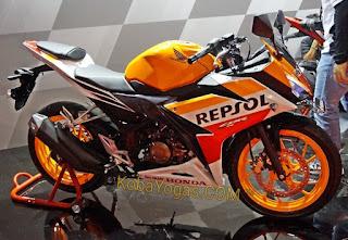 Honda CBR150R versi repsol