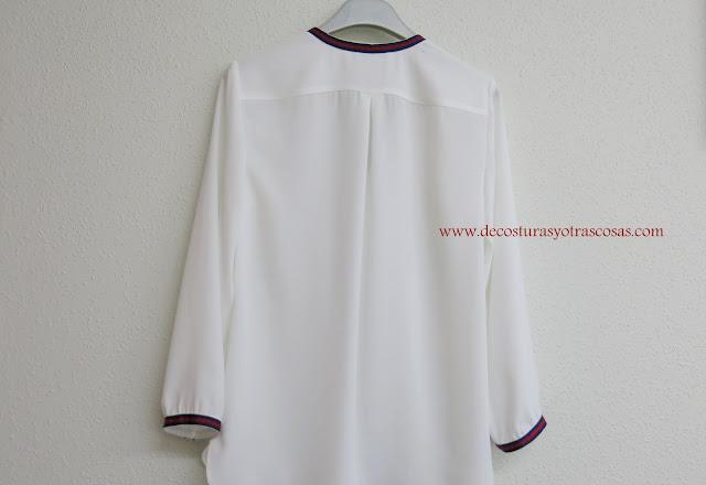 tutorial de costura blusa clásica fácil