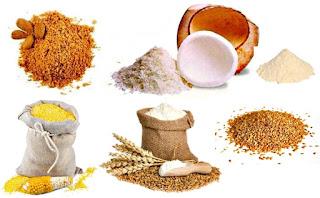 Harinas alimentos dieta nutrición