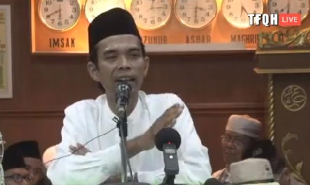 Ustadz Abdul Somad Buka Suara Soal Persekusi, Ini Sindiran Telak Beliau