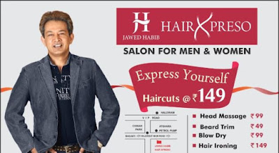Jawed habib salon near me and price list
