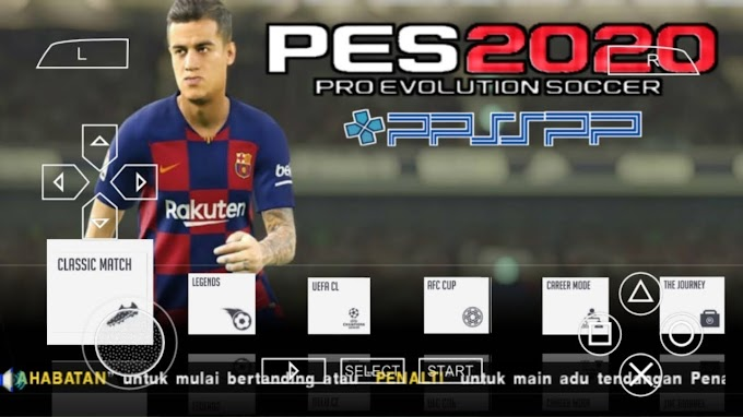 Download Link For PES 2020 Ppsspp Iso File With PS4 Camera