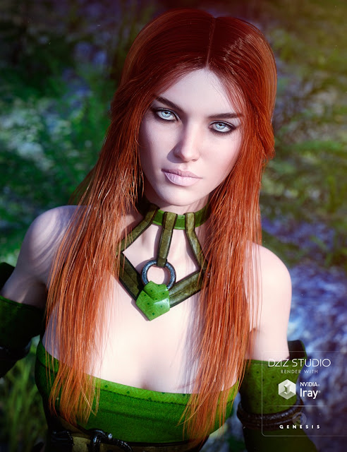Carefree Hair for Genesis 3 Female
