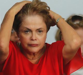 Dilma tensa