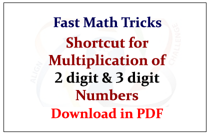 Number Names Worksheets multiplication of three digit numbers : Fast Math Tricks How To Multiply 3 Digit Numbers The Fast Way ...