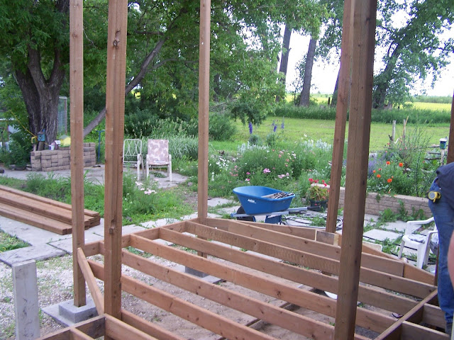 floor and wall construction hexagon gazebo
