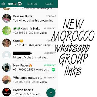 Morocco whatsapp group links