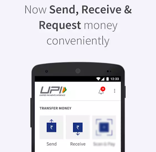 Send and Receive Money BHIM App Screenshot