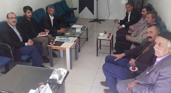 HÜDA PAR Silvan esnafının sorunlarını yetkililere iletti