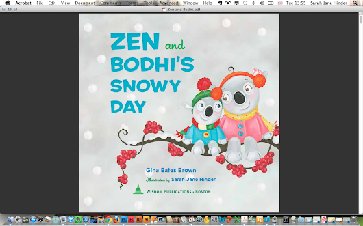 Zen and Bodhi's Snowy Day - Available to Pre-order