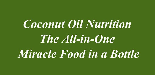 Coconut Oil Nutrition