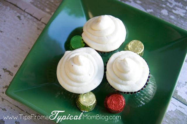 Eggnog Cupcakes Made With Cake Mix