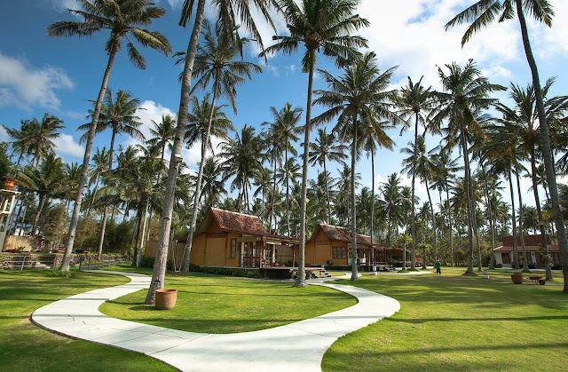 Suasana Green Garden Villa Solong Banyuwangi