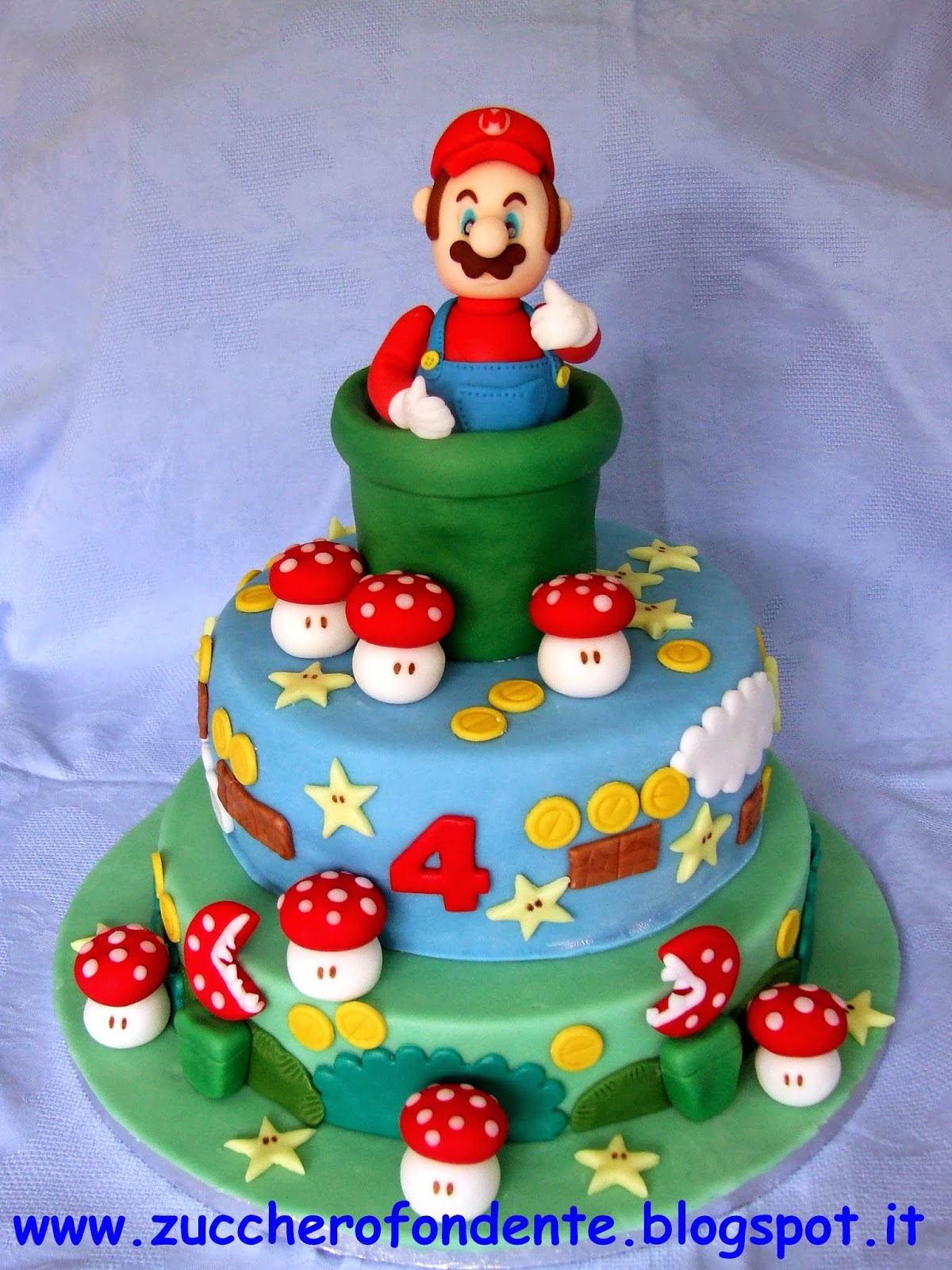 zuccherofondente torta super mario. Black Bedroom Furniture Sets. Home Design Ideas