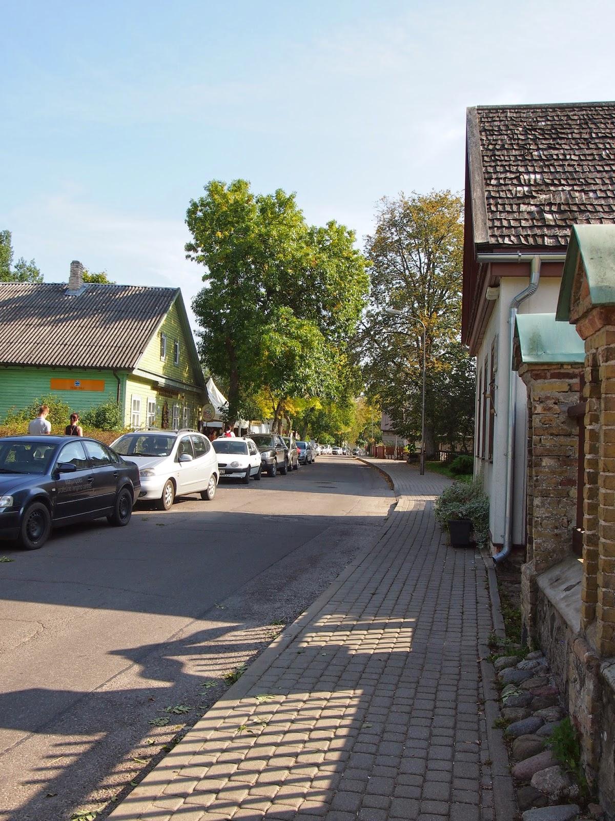 the streets of Trakai town