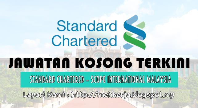 Jawatan Kosong Terkini 2016 di Standard Chartered Malaysia