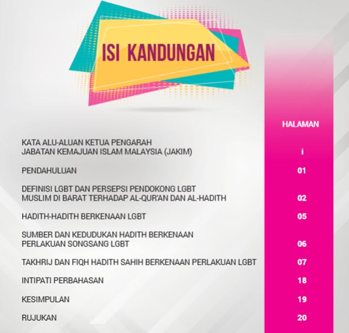 Ebook Hadith Sahih Berkaitan LGBT