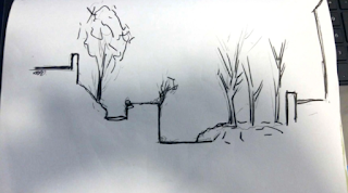image of a sketch drawn by student