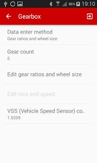 hondash app car gearbox settings