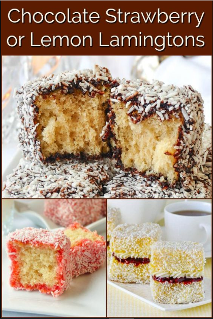 Chocolate Coconut Cake Squares a.k.a. Lamingtons