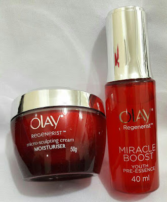 Olay Regenerist Miracle Boost & Micro Sculpting Cream