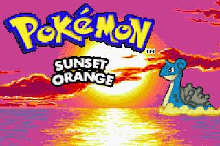 pokemon sunset orange