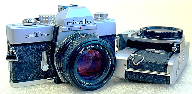 Minolta SRT-101b, A pair of