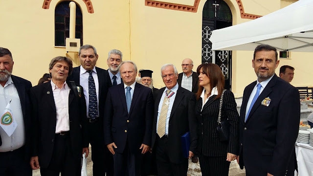 Ο Γιάννης Ανδριανός στην εκδήλωση μνήμης και τιμής για τον πεσόντα στην Κύπρο ήρωα καταδρομέα Ευάγγελο Τσάκωνα