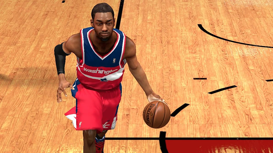 NBA 2K14 John Wall Next-Gen Cyberface Mod