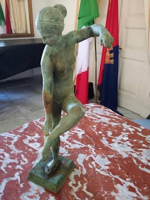 Αρχαίο ελληνικό άγαλμα της Αφροδίτης βρέθηκε στα ανοικτά των ιταλικών ακτών