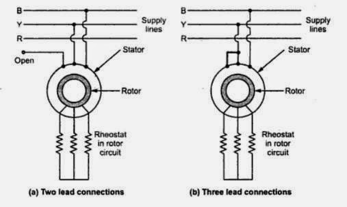 a  two lead connections b  three lead connections