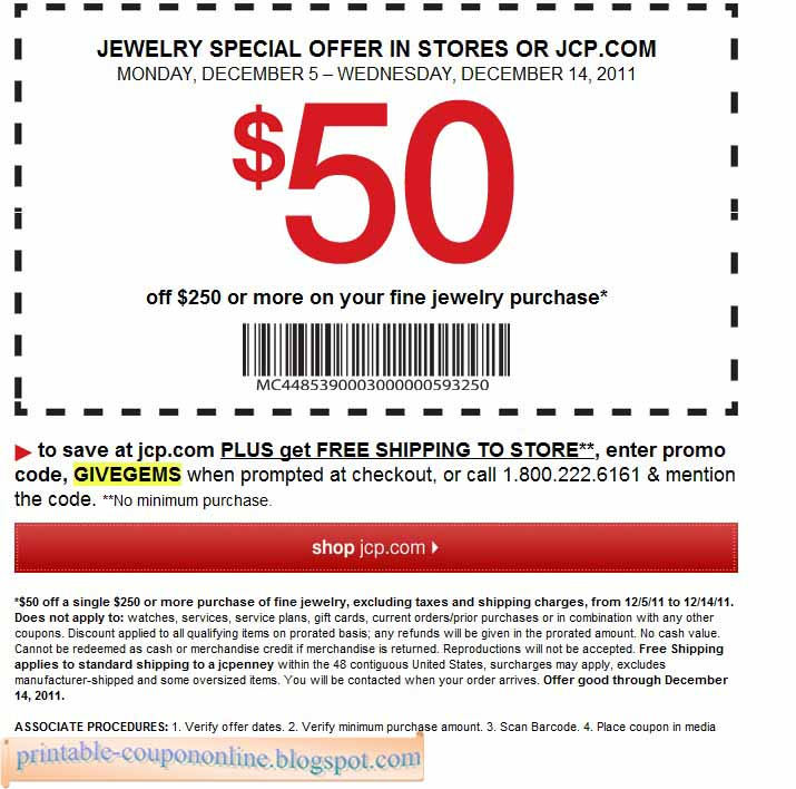 Jcpenney Coupons 2019 In Store