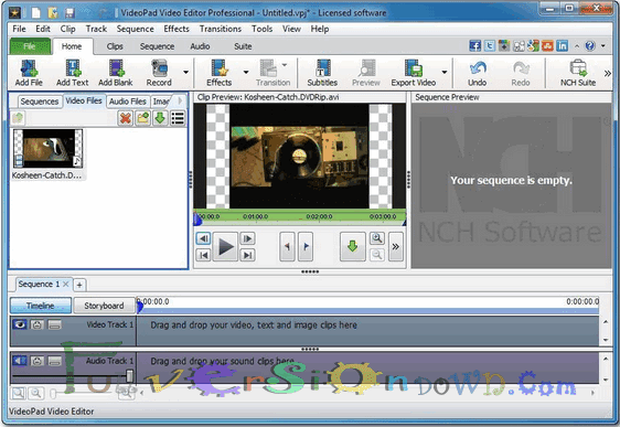 VideoPad Video Editor Professional Latest Full
