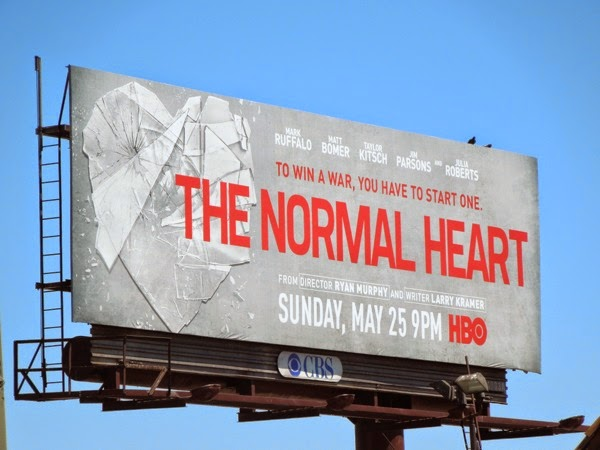 Normal Heart hbo billboard