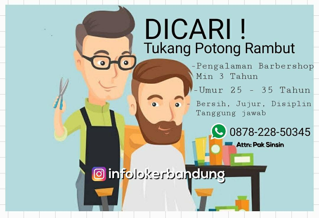 Dicari ! Tukang Potong Rambut Bandung April 2018