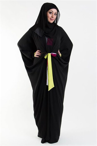 model abaya arab terbaru
