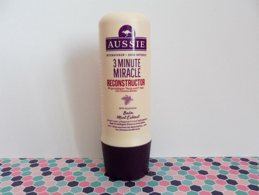 Aussie, l'après-shampoing 3 Minute Miracle Reconstructor : un miracle ? - Par Lili LaRochelle à Bordeaux